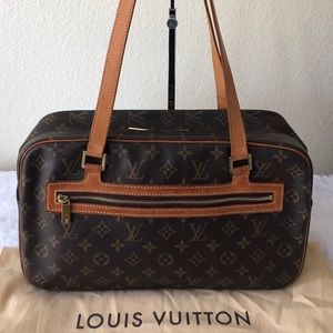 Authentic Louis Vuitton Monogram Cite GM Bag